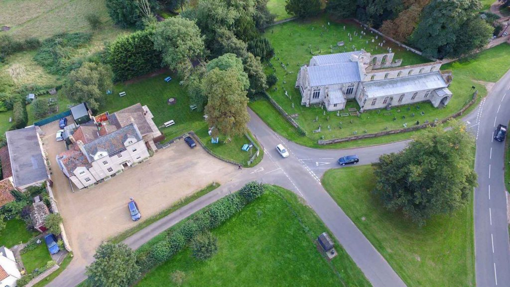 Bedingfeld Arms Luxury B&B Oxburgh Aerial